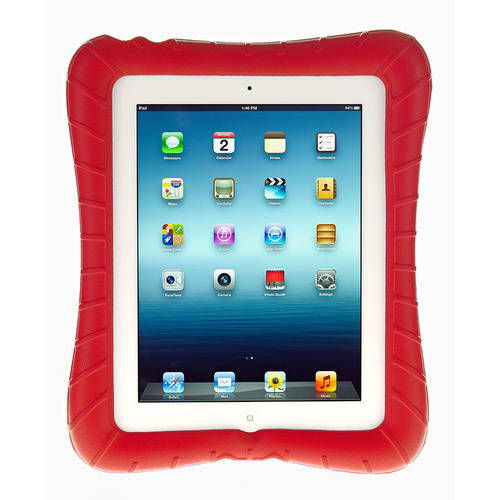M-Edge - Supershell for iPad 2, 3 & 4 - Red